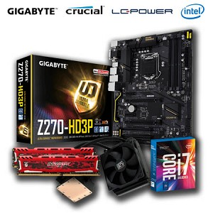 Ultra Gaming Bundle - i7 7700K - Water Cooling - 16GB DDR4 2400MHz - Z270 Motherboard