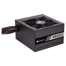 Corsair VS650 — 650 Watt 80 PLUS® White Certified PSU